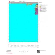G22a4 Paftası 1/25.000 Ölçekli Vektör Jeoloji Haritası