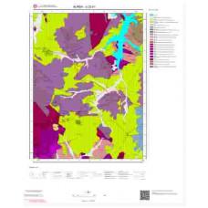G22b1 Paftası 1/25.000 Ölçekli Vektör Jeoloji Haritası
