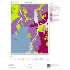 G22b2 Paftası 1/25.000 Ölçekli Vektör Jeoloji Haritası