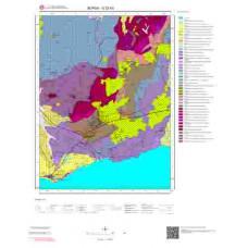 G22b3 Paftası 1/25.000 Ölçekli Vektör Jeoloji Haritası