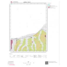 G22c1 Paftası 1/25.000 Ölçekli Vektör Jeoloji Haritası