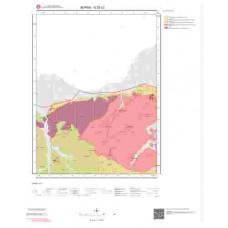 G22c2 Paftası 1/25.000 Ölçekli Vektör Jeoloji Haritası