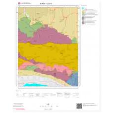 G22c3 Paftası 1/25.000 Ölçekli Vektör Jeoloji Haritası