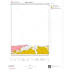 G22d1 Paftası 1/25.000 Ölçekli Vektör Jeoloji Haritası