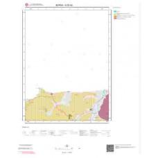 G22d2 Paftası 1/25.000 Ölçekli Vektör Jeoloji Haritası