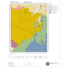 G22d3 Paftası 1/25.000 Ölçekli Vektör Jeoloji Haritası