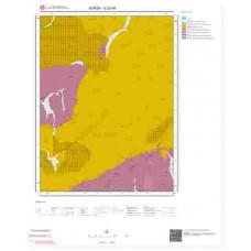G22d4 Paftası 1/25.000 Ölçekli Vektör Jeoloji Haritası