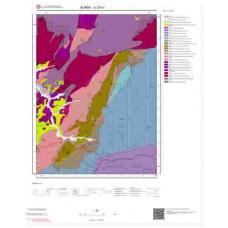 G23a1 Paftası 1/25.000 Ölçekli Vektör Jeoloji Haritası