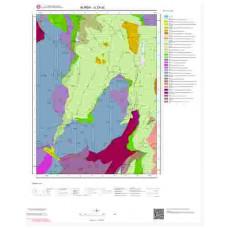 G23a2 Paftası 1/25.000 Ölçekli Vektör Jeoloji Haritası