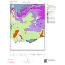 G23a4 Paftası 1/25.000 Ölçekli Vektör Jeoloji Haritası