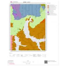G23b1 Paftası 1/25.000 Ölçekli Vektör Jeoloji Haritası