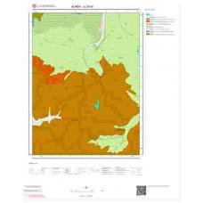 G23b2 Paftası 1/25.000 Ölçekli Vektör Jeoloji Haritası