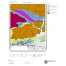 G23b3 Paftası 1/25.000 Ölçekli Vektör Jeoloji Haritası