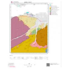 G23c1 Paftası 1/25.000 Ölçekli Vektör Jeoloji Haritası