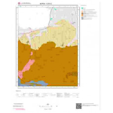 G23c2 Paftası 1/25.000 Ölçekli Vektör Jeoloji Haritası
