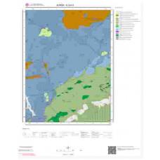 G23c3 Paftası 1/25.000 Ölçekli Vektör Jeoloji Haritası