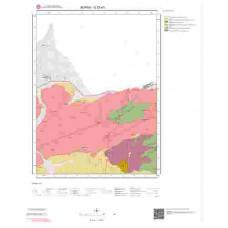 G23d1 Paftası 1/25.000 Ölçekli Vektör Jeoloji Haritası