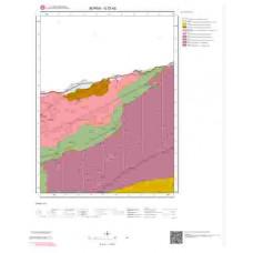 G23d2 Paftası 1/25.000 Ölçekli Vektör Jeoloji Haritası