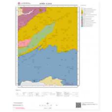 G23d3 Paftası 1/25.000 Ölçekli Vektör Jeoloji Haritası