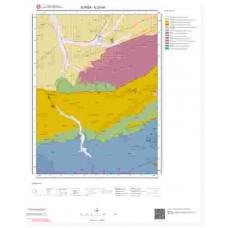 G23d4 Paftası 1/25.000 Ölçekli Vektör Jeoloji Haritası