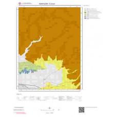 G24a4 Paftası 1/25.000 Ölçekli Vektör Jeoloji Haritası
