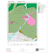 G24c4 Paftası 1/25.000 Ölçekli Vektör Jeoloji Haritası