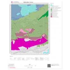 G24d3 Paftası 1/25.000 Ölçekli Vektör Jeoloji Haritası