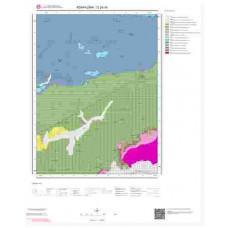 G24d4 Paftası 1/25.000 Ölçekli Vektör Jeoloji Haritası
