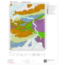 G25a1 Paftası 1/25.000 Ölçekli Vektör Jeoloji Haritası
