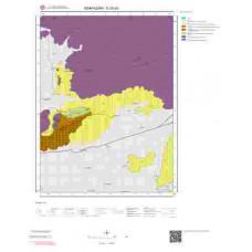 G25a3 Paftası 1/25.000 Ölçekli Vektör Jeoloji Haritası