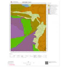 G25b1 Paftası 1/25.000 Ölçekli Vektör Jeoloji Haritası