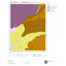G25b4 Paftası 1/25.000 Ölçekli Vektör Jeoloji Haritası