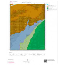 G25c2 Paftası 1/25.000 Ölçekli Vektör Jeoloji Haritası