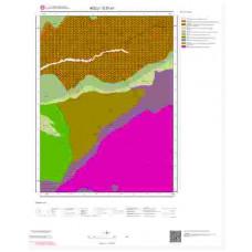 G27a1 Paftası 1/25.000 Ölçekli Vektör Jeoloji Haritası