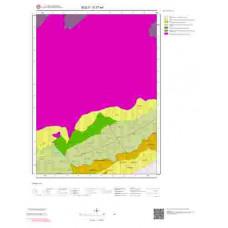 G27a4 Paftası 1/25.000 Ölçekli Vektör Jeoloji Haritası