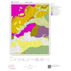 G27b4 Paftası 1/25.000 Ölçekli Vektör Jeoloji Haritası