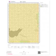 G27c3 Paftası 1/25.000 Ölçekli Vektör Jeoloji Haritası