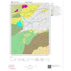 G27d1 Paftası 1/25.000 Ölçekli Vektör Jeoloji Haritası