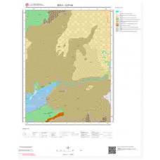 G27d4 Paftası 1/25.000 Ölçekli Vektör Jeoloji Haritası