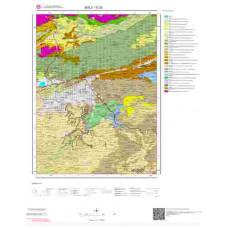 G28 Paftası 1/100.000 Ölçekli Vektör Jeoloji Haritası