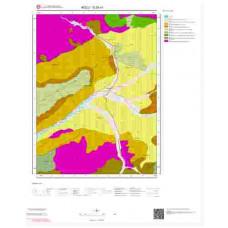 G28a1 Paftası 1/25.000 Ölçekli Vektör Jeoloji Haritası