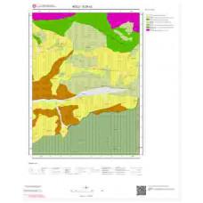 G28a2 Paftası 1/25.000 Ölçekli Vektör Jeoloji Haritası