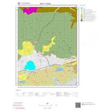 G28a4 Paftası 1/25.000 Ölçekli Vektör Jeoloji Haritası