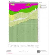 G28b1 Paftası 1/25.000 Ölçekli Vektör Jeoloji Haritası