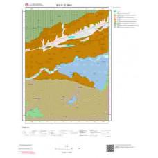 G28b3 Paftası 1/25.000 Ölçekli Vektör Jeoloji Haritası