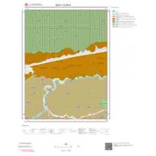 G28b4 Paftası 1/25.000 Ölçekli Vektör Jeoloji Haritası