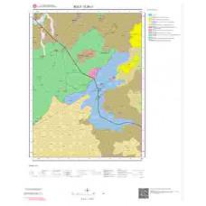 G28c1 Paftası 1/25.000 Ölçekli Vektör Jeoloji Haritası