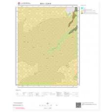 G28d4 Paftası 1/25.000 Ölçekli Vektör Jeoloji Haritası