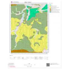 G29a1 Paftası 1/25.000 Ölçekli Vektör Jeoloji Haritası