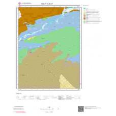G29a4 Paftası 1/25.000 Ölçekli Vektör Jeoloji Haritası